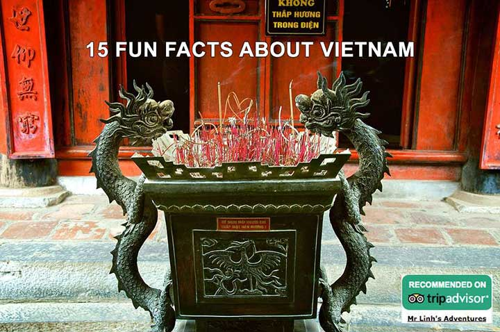 15 fun facts sur le Vietnam
