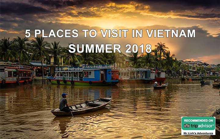 5 places to visit in Vietnam during summer