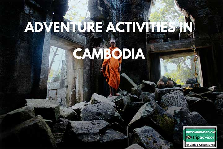 Adventure activities in Cambodia