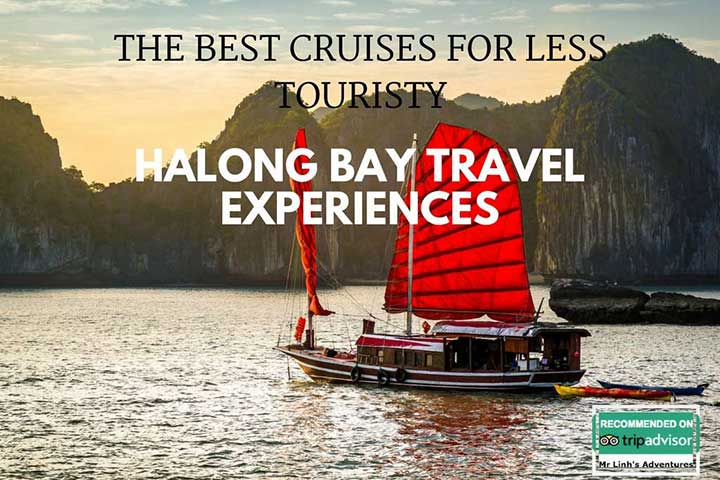 The best cruises for less touristy Halong Bay travel experiences