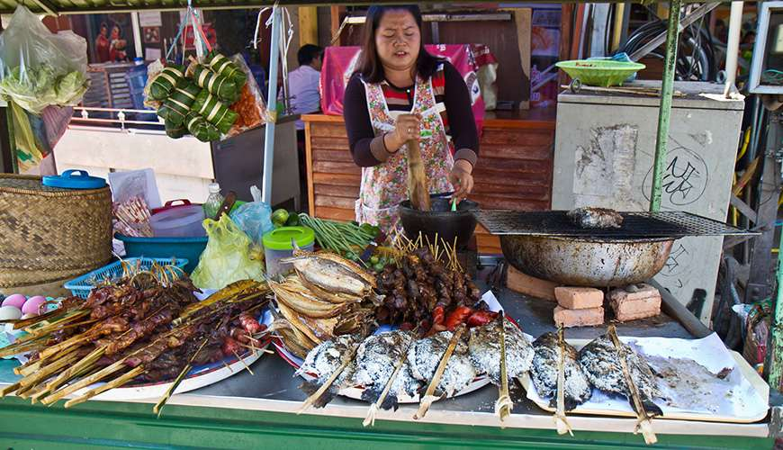 traditional cuisine in Laos