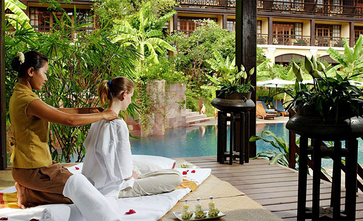 Top 5 high end hotels in Siem Reap