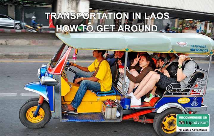 Transport au Laos: comment se déplacer
