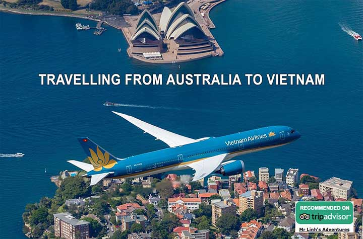Travelling from Australia to Vietnam: flights, tips + tours
