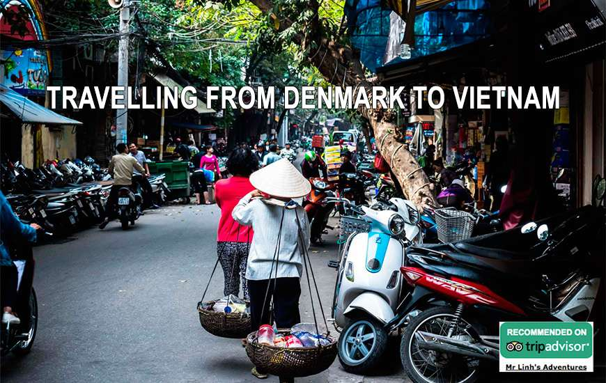 Travelling from Denmark to Vietnam: flights, tips + tours