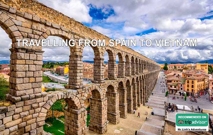 Travelling from Spain to Vietnam: flights, tips + tours