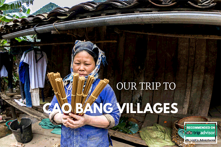 Cao Bang villages, Nguom Ngao cave and Ban Gioc waterfalls