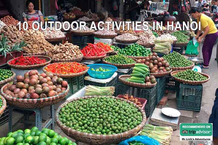 10 outdoor activities in Hanoi