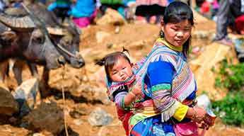 Discover Can Cau and Bac Ha market 4 days 3 nights