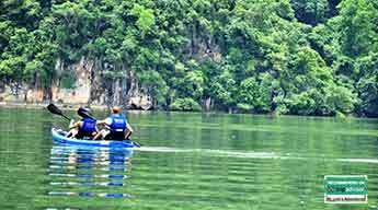 Kayaking and Trekking in Ba Be National Park 3 days 2 nights