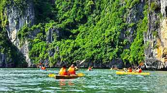 Trekking and Kayaking in Cat Ba 4 days 3 nights